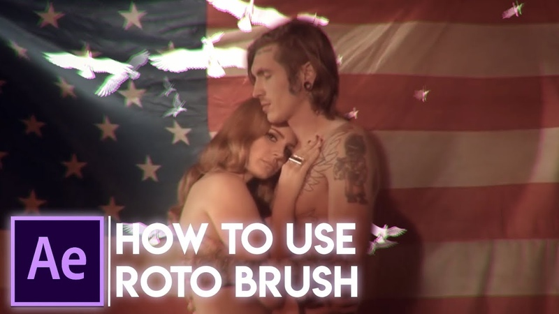 How To Use Roto Brush in After Effects (RUS)