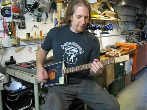 Cigar Box Guitar Lessons Mike Snowden ROCK Vol. 1