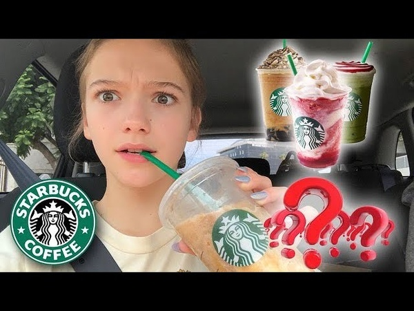 Starbucks Baristas Pick My Drinks For A Week! Vlog Day 106 || Jayden Bartels