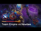 Team Empire vs Newbee