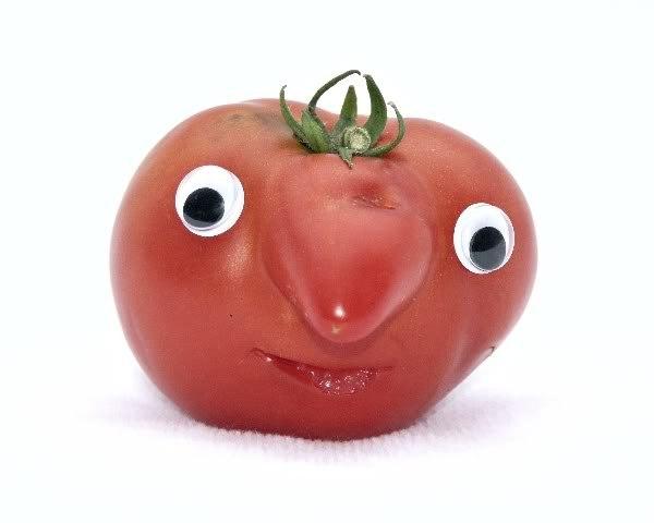 Открытки пожеланиями, прикольные картинки помидора с глазами