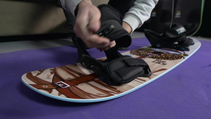 Snowboard Addiction - Balance Bar Training | Setting Up Your Snowboard Addiction Training Board