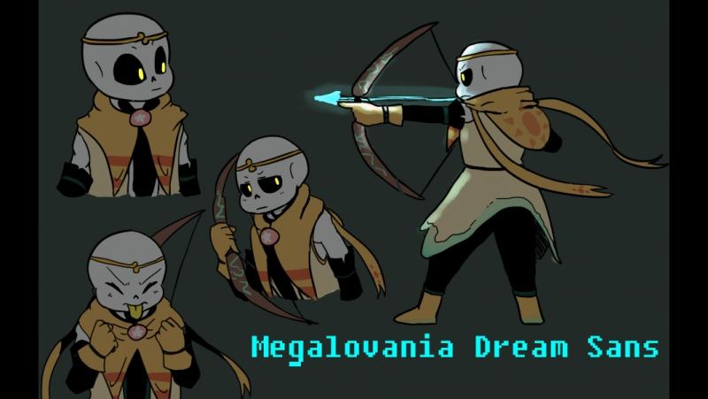 Megalovania Dream Sans Мегалования Дрим Санса