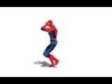 этот#человек-паук#танцует#под#разную#музыку#и#всегда#попадает#в такт#