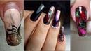 Осенний дизайн ногтей/ Втирка ЖУК/ Стразы/ Коррекция ногтей акрилом/ Подарок от меня в комментариях
