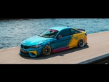 Insane Stanced BMW M2 ON BAGS in Russia! Building process and FINAL RESULT!!