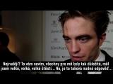 Robert Pattinson red carpet interview with Reflex
