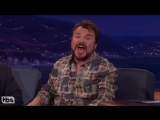 Jack Black Performs A Jumanji Song He Co-Wrote With Nick Jonas  - CONAN on TBS