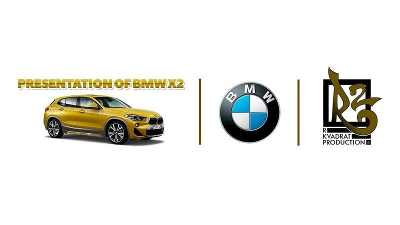 Presentation BMW X2 by R Kvadrat Prod.
