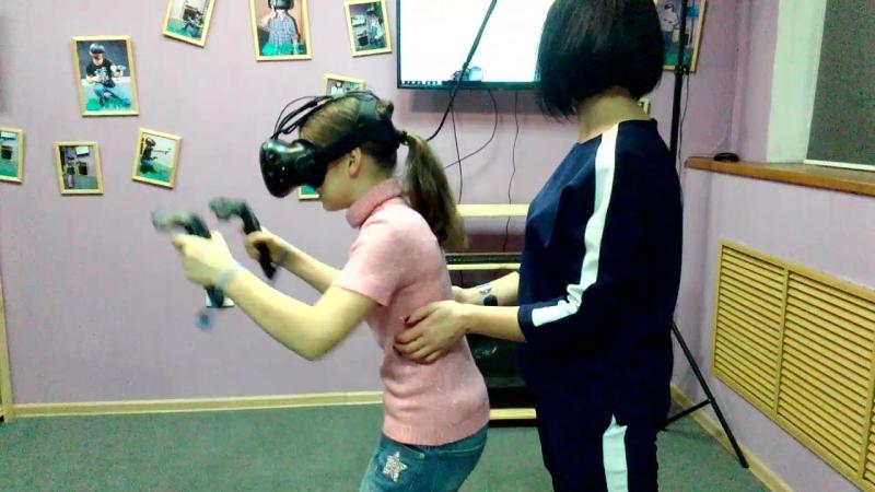 В виртуальной реальности