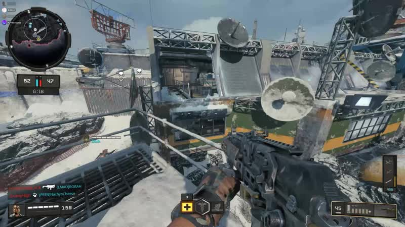 Nomads dog can climb up the ladder in summit. Black Ops 4