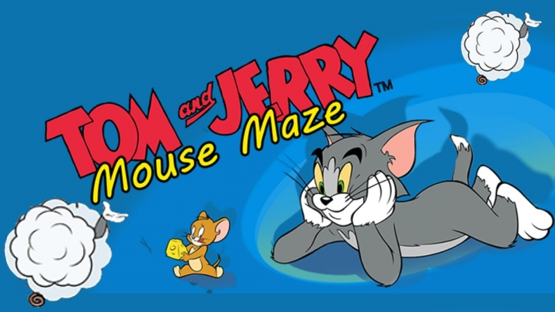 Поляковский Летсплей🐶 Tom and Jerry Mouse Maze🐈🐁 (Том и Джерри в школе)