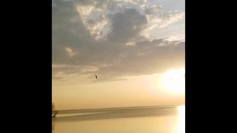 Закат. Плещеево озеро