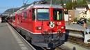 Rhätische Bahn ● IR 1120 (St. Moritz ► Chur) ● Samedan