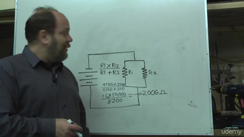 7. Schematic diagrams and resistors in parallel