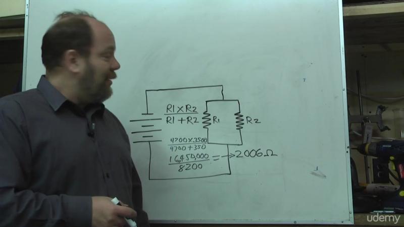 7. Schematic diagrams and resistors in parallel