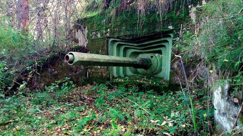 Заброшенный военный бункер АДОТ 1928 года постройки