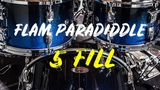 Flam Paradiddle Five Fill
