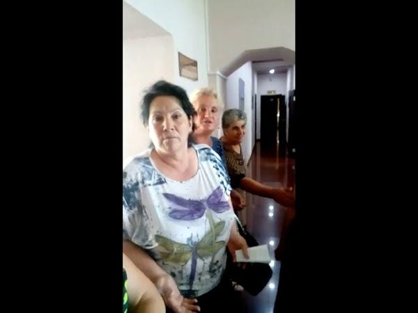 Бунт санитарок в КБСП Владикавказа попал на видео, 8.08.2018