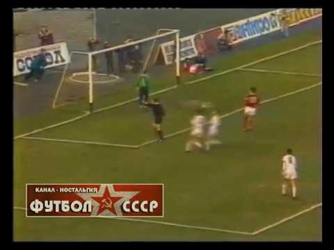 1989 Днепр (Днепропетровск) - Динамо (Минск) 2-1 Чемпионат СССР по футболу