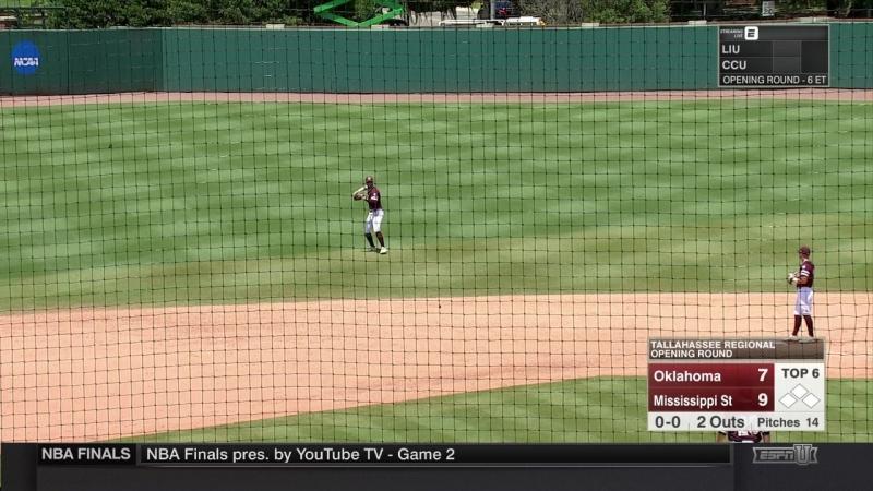 Бейсбол от телеканала ESPN Base ball Satellite Feed HD
