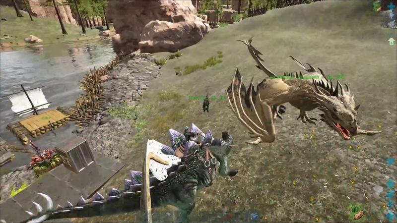 ARK: Survival Evolved - Выживаем на сервере х50 Ragnarok (5 часть)