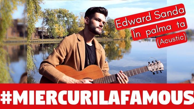 """Edward Sanda cântă """"În palma ta"""" pe malul lacului"""