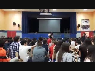 Гимн СССР на выборах в США.