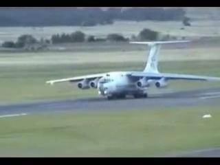 Russian cargo plane needs more runway