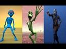 تحدي بين رقصة الكائن الأخضر الكائن الأزرق 1