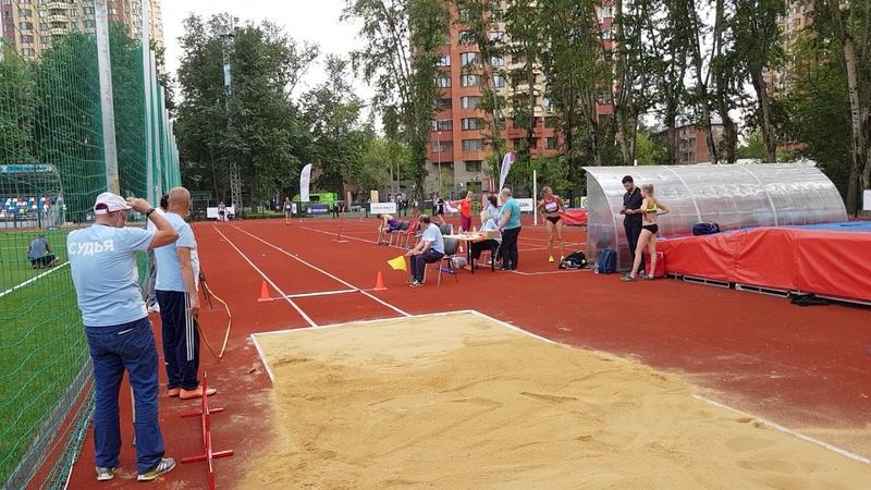 Илья Шкуренёв - 7,40 м прыжок в длину СпидиПентатлона Гераклиады2018