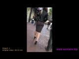 mini dress, mini skirt, мини юбка, большая попка в мини юбке, sexy ass, nice ass, wallking in street, sexy legs, big ass, попка