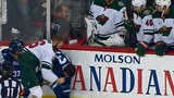 Wild and Jets scuffle with 10 seconds left as Winnik and Tanev scrap