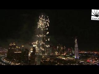 Новогодний салют в Дубае вошел в Книгу рекордов Гиннеса.