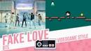 FAKE LOVE BTS Videogame cover 8 bits