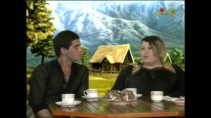 На лавочке Азнаур и Алипат