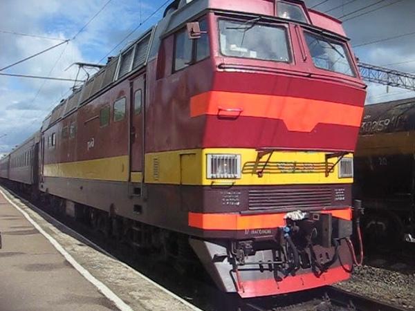 ЧС4Т 318 с поездом № 071Е Екатеринбург Санкт Петербург