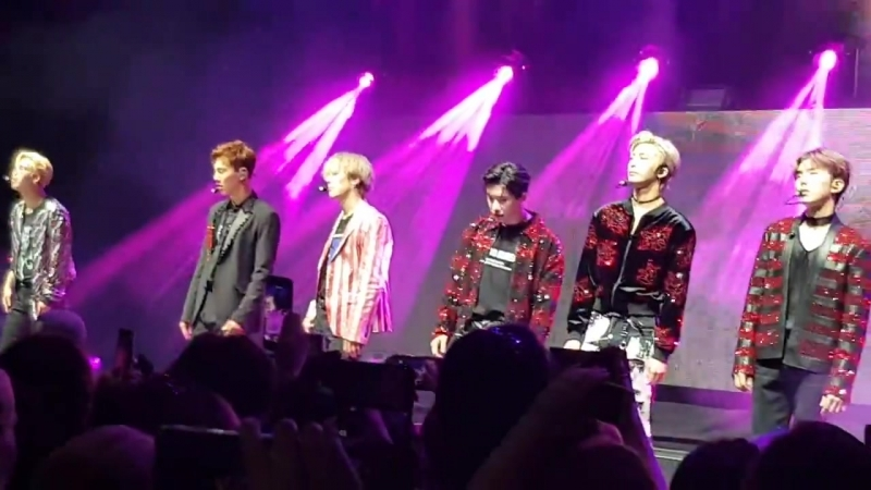 [VK][180617] MONSTA X fancam - Lost In The Dream @ The 2nd World Tour The Connect in London