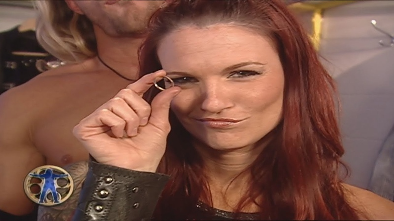 The Highlight Reel with Kane Lita Flushes Her Wedding Ring - 5-30-2005 Raw