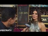 Sandra Bullock - Interview f/ ExtraTV at the