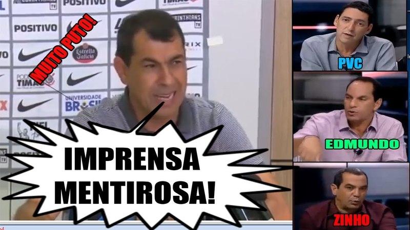 Carille esculacha a imprensa I PVC, Edmundo e Zinho respondem! (Completo)