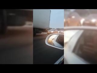 Водитель ВАЗа чудом выжил в страшном ДТП на трассе Стерлитамак-Уфа