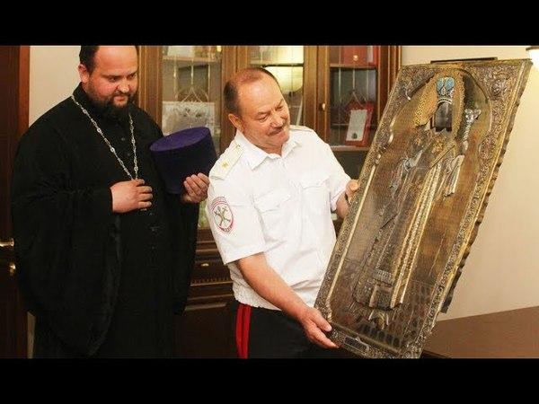 Тульская полиция передала Вятской Епархии похищенный 40 лет назад серебряный оклад иконы