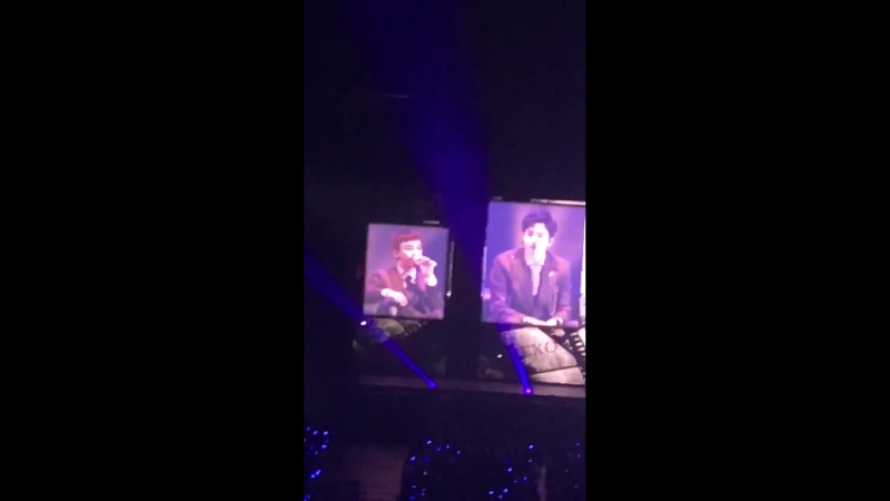 [LQ FANCAM] 180224 `The EℓyXiOn` in Osaka: D-2 @ EXO's Chen — Sing for You ; Eri-chan