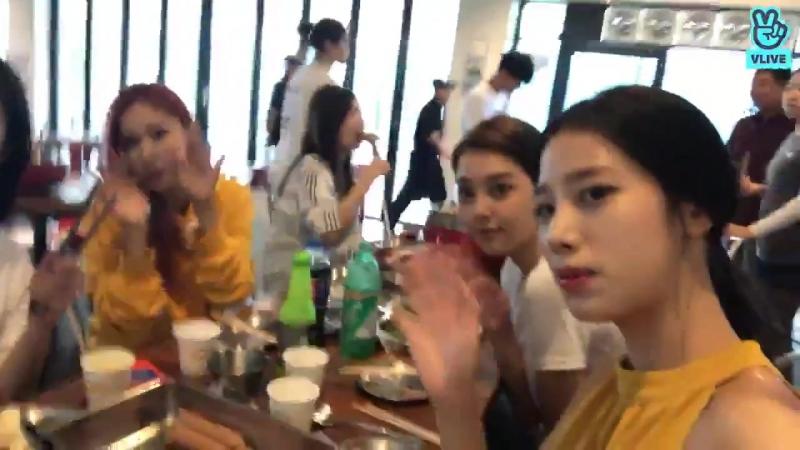 [V LIVE] 베리굿-(berrygood) 먹방!!BBQ파티🍗🍗🍖🍖❤️❤️