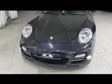 Откидная номерная рамка на Porsche 911 (передний номер)