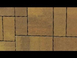 Тротуарная плитка Тракт колор-микс тироль Ландшафт
