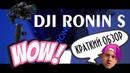 Обзор DJI Ronin-S - лучший стабилизатор