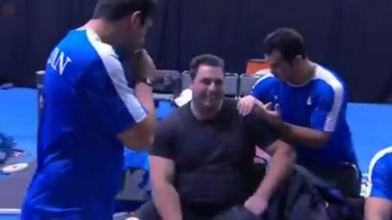 Гия Кварацхелия Грузинский Голиаф по прежнему остается чемпионом мира снова мировой рекорд человечество не помнит такого сил