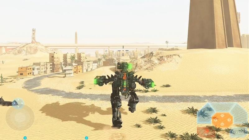 Battle Of Titans [BoT] Test Server - NEW Desert Map Gameplay